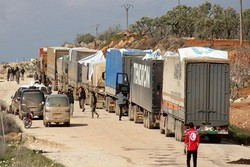 کمک های انسانی سوریه