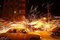 ۹ نفر در حوادث آخرین چهارشنبه سال در خراسان شمالی آسیب دیدند