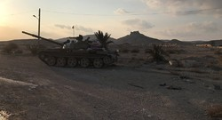 Syrian troops gain full Control of key hill east of Palmyra