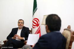 Iranian Deputy Foreign Minister Hossein Jaberi Ansari