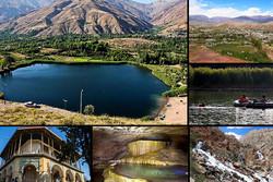 قایقسواری در دریاچه «اوان»/ به طبیعت شگفتانگیز الموت سفر کنید