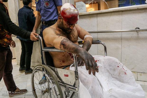 چهارشنبه سوری در فارس ۱۸ مصدوم داشت/ ۵ نفر بستری شدند