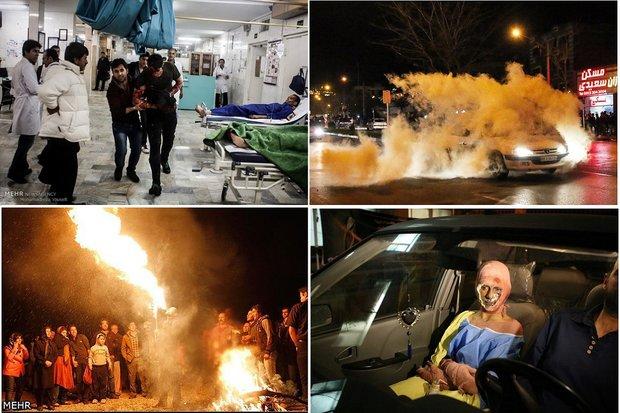 بازی باسلامتی در چهارشنبه آخرسال /افزایش کشف موادمحترقه