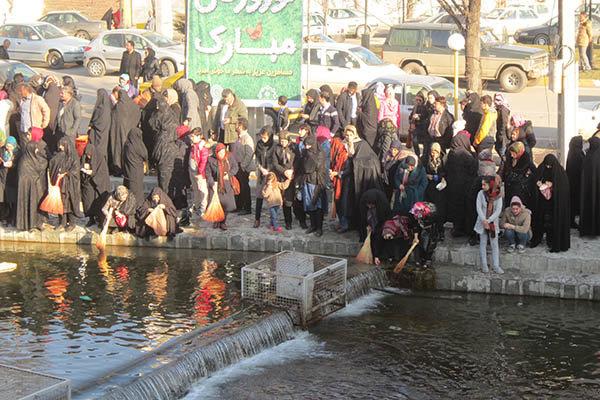 """مراسم """"نواوستي"""" الشعبية في اردبيل استقبالاً للربيع"""