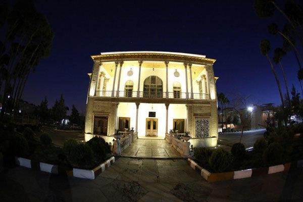 خانه تاریخی تیمور تاش نور پردازی شد