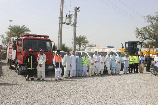 آغاز طرح نوروزی امداد و نجات ستاد خدمات سفر در بخش زرآباد