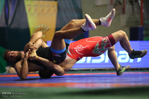 Iran crushes Germany in Abadan Greco-Roman World Cup
