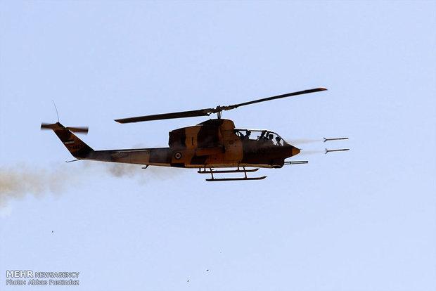"""""""Beytül Mukaddes"""" tatbikatında helikopterlerden büyük gösteri"""