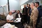 محسن رضایی از جانبازان مرکز توانبخشی امام خمینی(ره) عیادت کرد