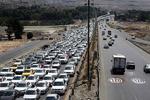 ترافیک در آزاد راه تهران - کرج/وضعیت جاده هراز