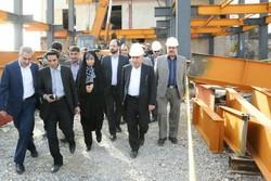 رئیس سازمان میراث فرهنگی از هتل صخرهای خرمآباد بازدید کرد