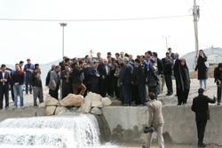 دریاچه بوستان شاپوری خرمآباد آبگیری شد