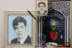 دیدار مدیر کل تبلیغات اسلامی سمنان با خانواده شهید کریمی در شاهرود