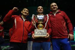 نهائي منافسات بطولة كأس العالم للمصارعة الرومانية / صور