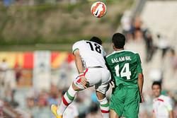 دیدار تیم ملی فوتبال ایران و عراق