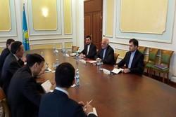 Iran, Kazakhstan discuss political, intl. issues