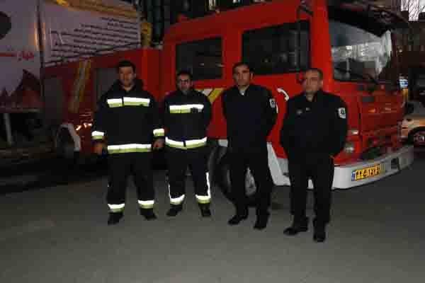 آماده باش نیروهای آتش نشانی شهرداری ارومیه در نوروز ۹۶