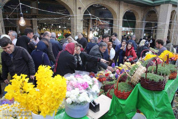 Nowruz market in Tehran