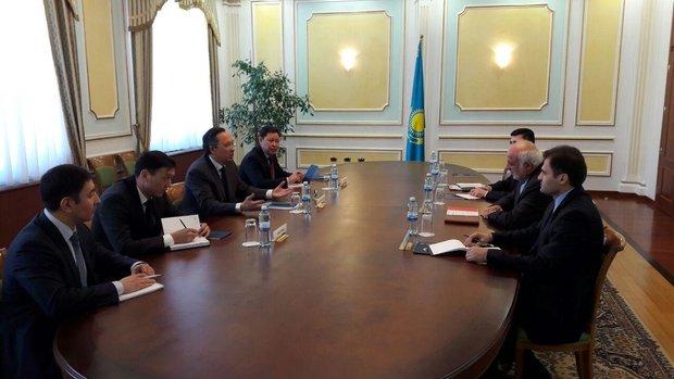 Tehran, Astana mull over expanding ties