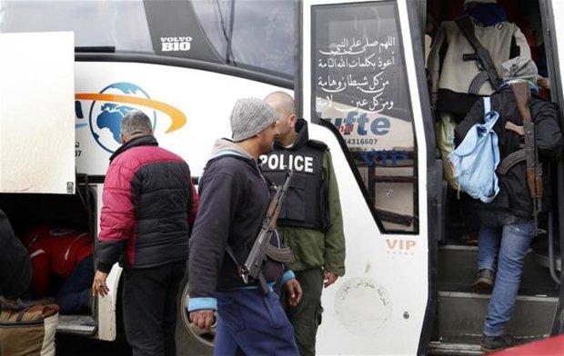 1500 gunmen, their families leave al-Waer neighborhood in Homs