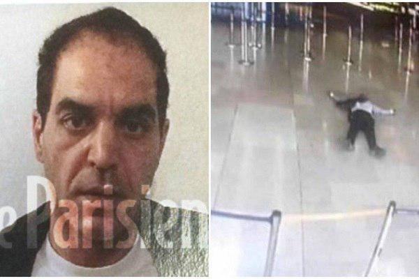 مهاجم فرودگاه پاریس، تونسی الاصل و یک سارق سابقه دار بود
