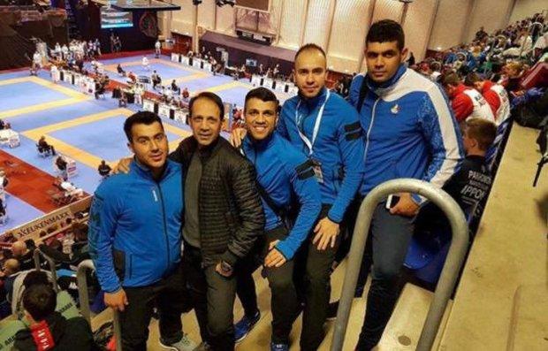 سه کاراته کای ایران برای کسب مدال برنز تلاش می کنند/ حیدری حذف شد