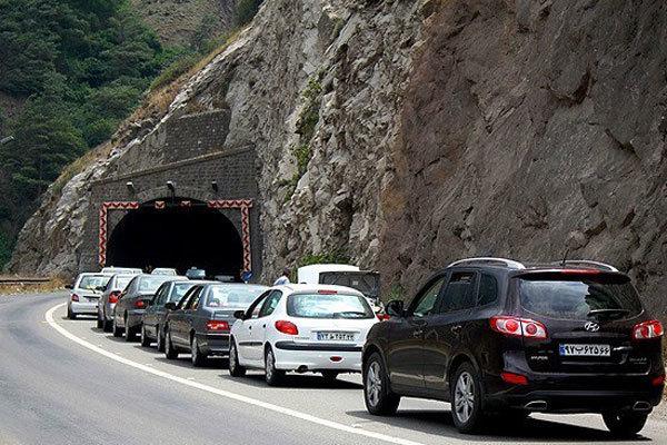 ترافیک محور هراز سنگین است