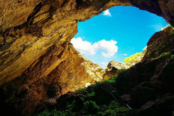 غار بورنیک فیروزکوه