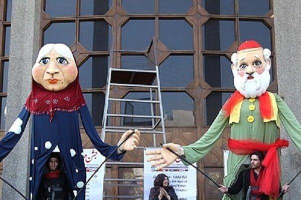 تئاتر خیابانی «عمو نوروز و ننه سرما» در همدان اجرا میشود