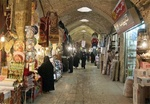 تلفیق زیبای هنر و معماری در بنای استوار و باشکوه بازار زنجان