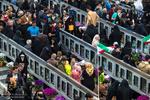 گمنام شہیدوں کے مزار پر تحویل سال کی تقریب