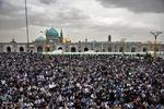 آلاف الايرانيين في حرم الامام الرضا أوائل السنة الجديدة/صور