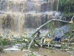 گھانا کی معروف آبشار میں درخت گرنے سے 19 افراد ہلاک