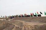 ۱۱۰۰ نفر از زائرین شهرستان قزوین به اردوی راهیان نور اعزام شدند