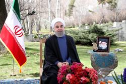 الرئيس روحاني : نسعى لخلق فرص العمل للشباب في العام الإيراني الجديد