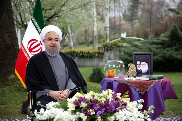 روحانی نوروز را به ایرانیان تبریک گفت