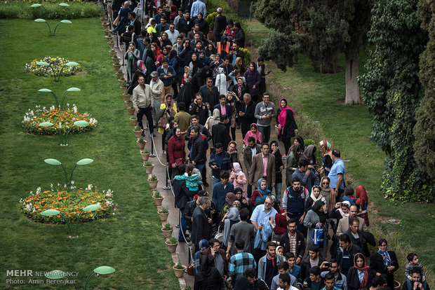 Nowruz ceremony in Shiraz