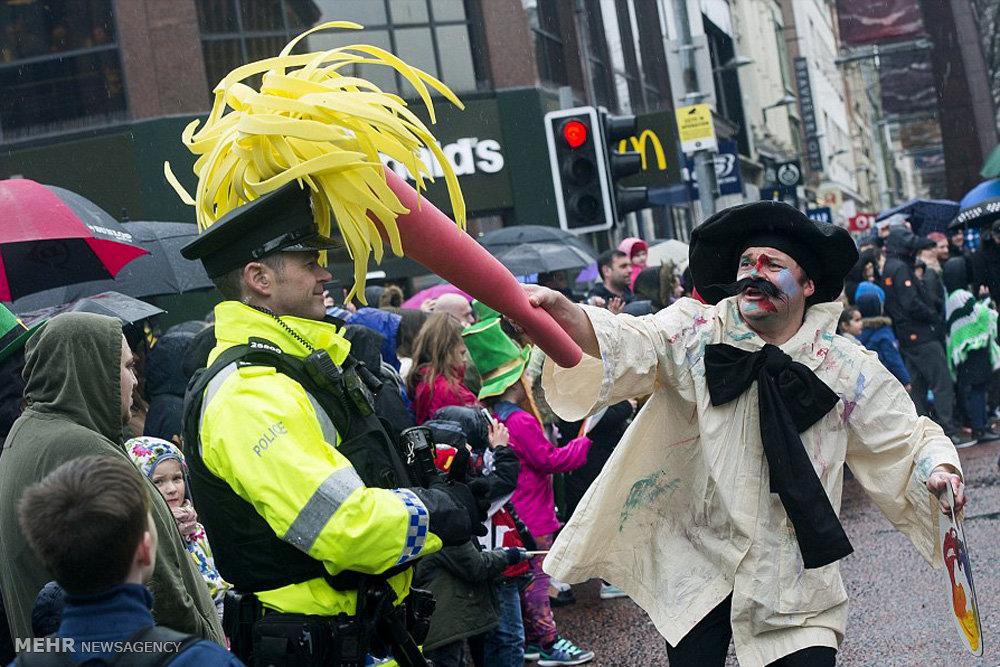 جشنواره سنت پاتریک در ایرلند