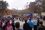 شور و نشاط در نوروزگاه ایلام با اجرای موسیقی آیینی