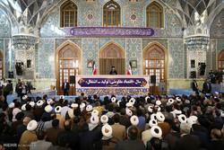 سخنرانی رهبر معظم انقلاب اسلامی در حرم مطهر رضوی
