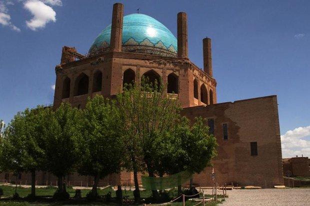 گنبد سلطانیه رکورد دار بازدید گردشگران نوروزی در زنجان است