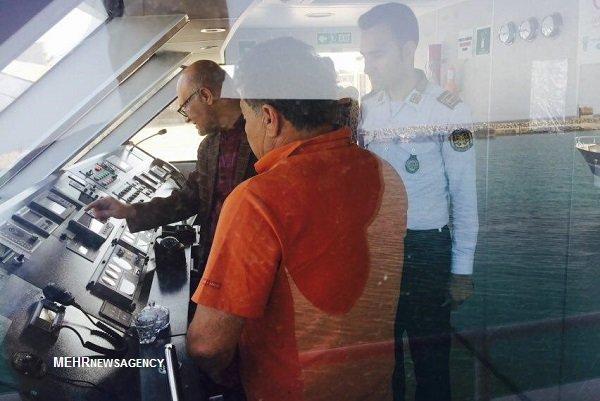 ترددهای دریایی در مسیر خارگ با ایمنی کامل انجام میشود