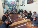 دیدار مسئولان مازندران با خانواده شهدای مدافع حرم در راهیان نور