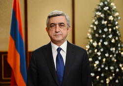 Armenian Pre. sends Iran New Year's greeting