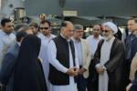 وزیر دادگستری از بندر شهید بهشتی چابهار بازدید کرد