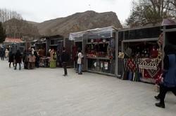 برپایی نمایشگاه سوغات در مناطق گردشگری همدان