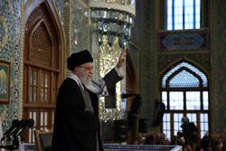 The Supreme Leader of the Islamic Revolution Ayatollah Seyyed Ali Khamenei
