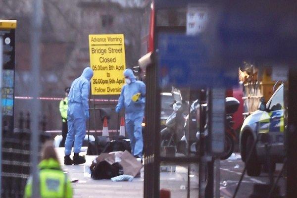الهجوم الارهابي على البرلمان البريطاني/صور