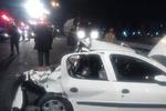 تصادف در محور ساوه - بوئین زهرا ۳ کشته برجای گذاشت