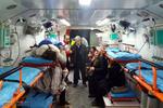 امدادرسانی به مصدومان ادامه دارد/ انتقال ۱۲ نفر به مراکز درمانی